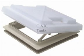 ROOF VENT SKY LIGHT 280 X 280 & FLYNET WHITE MPK